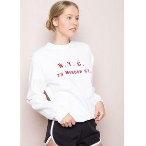 Brandy Melville Mercer Street Sweatshirt